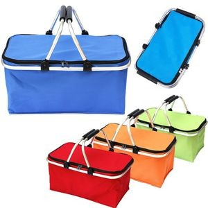 Collapsible Cooler Picnic Basket