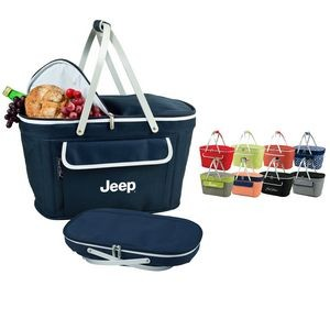 Collapsible Insulated Cooler Basket
